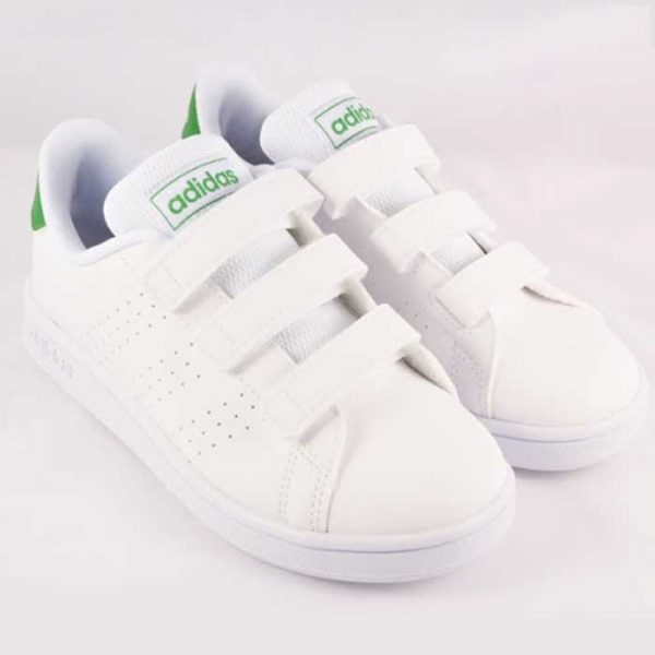 CHAUSSURE ADVANTAGE C blanc vert