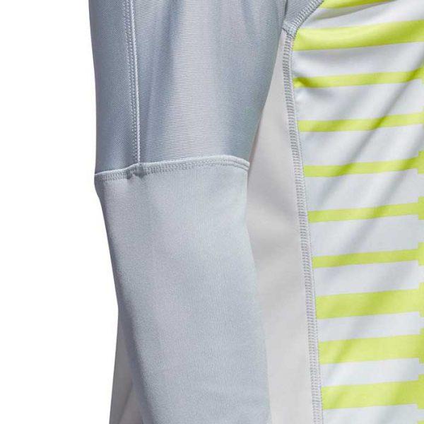 Maillot adidas Adipro 18 gris vert CV6351