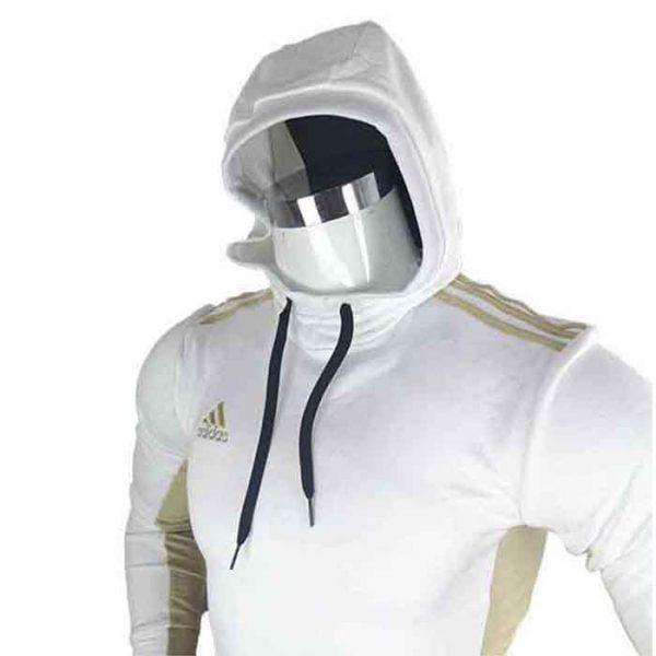 Sweat à capuche Blanc - dw6786