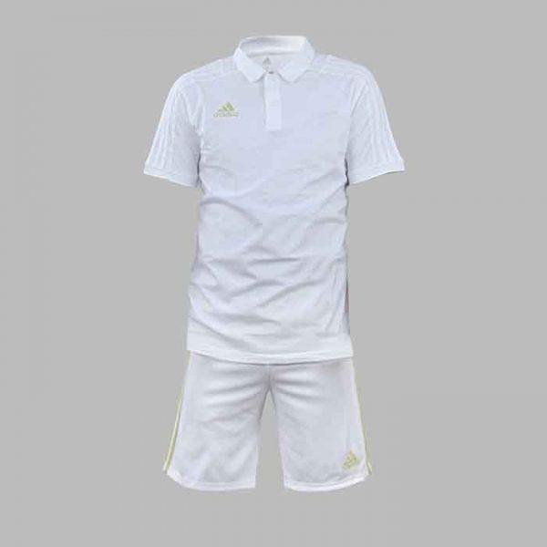 Polo et short Blanc - ce7444-ce7423