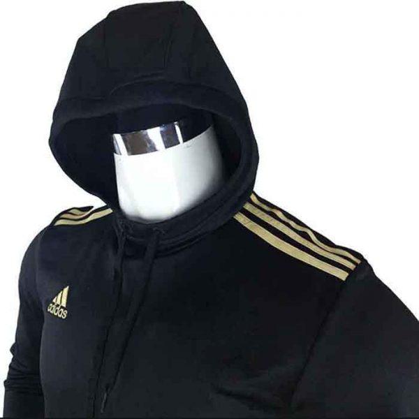 Sweat à capuche Noir - dw6786